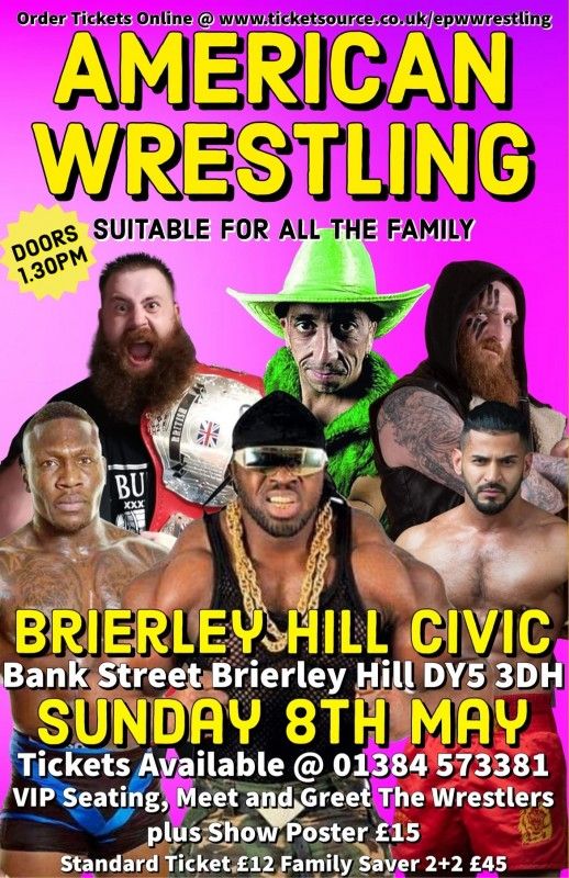 EPW American Wrestling Show, 8th May 2022