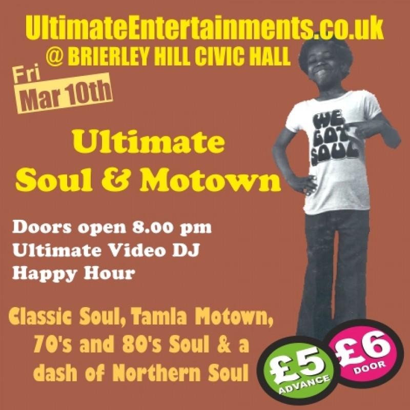 Ultimate Soul & Motown Night