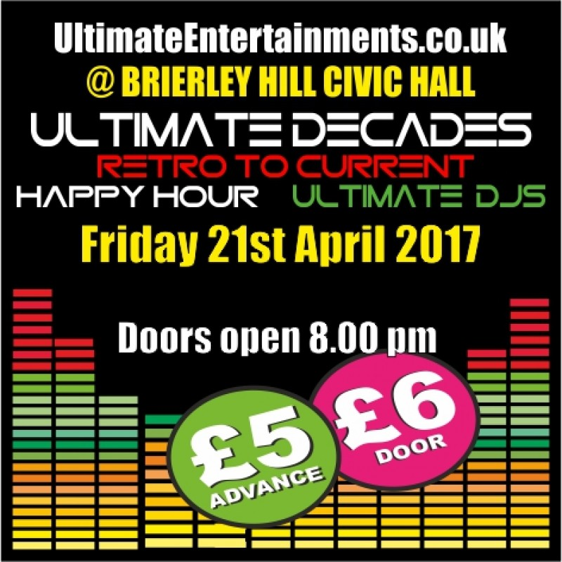 Ultimate Decades Party Night