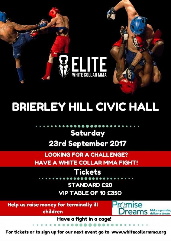 MMA Fight Night, 23rd September 2017