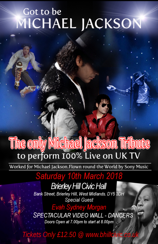 Got To Be Michael Jackson, 10th March 2018