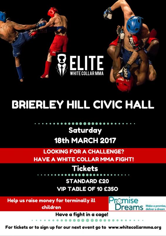 MMA Fight Night, 18th March 2018