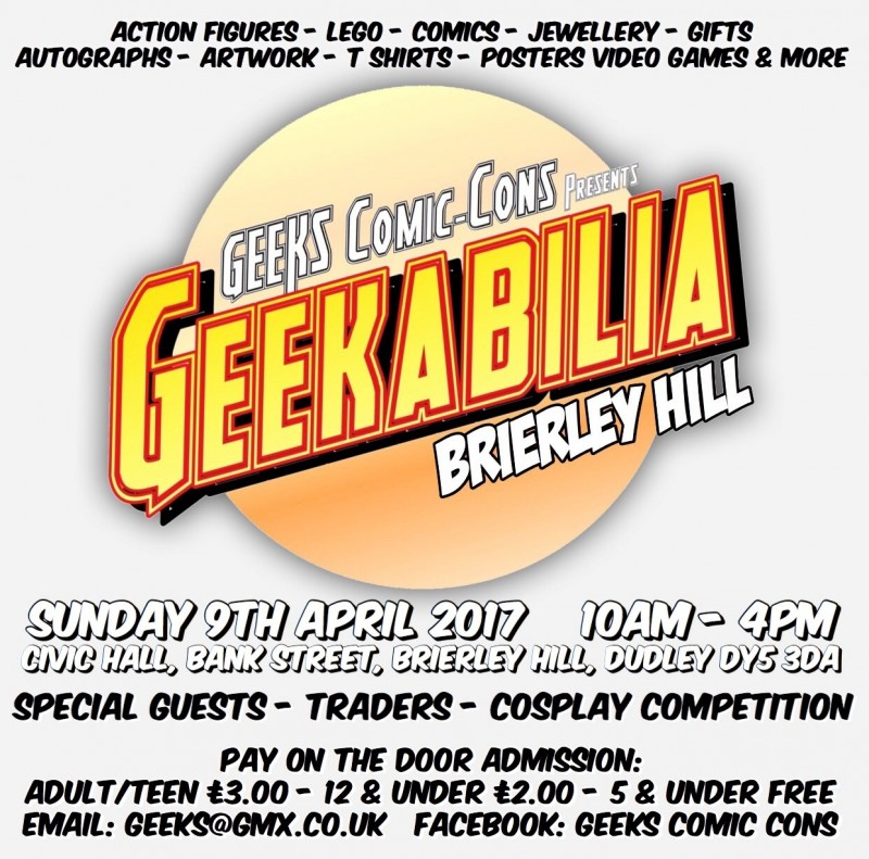 Geeks Comic-Cons Presents: Geekabilia