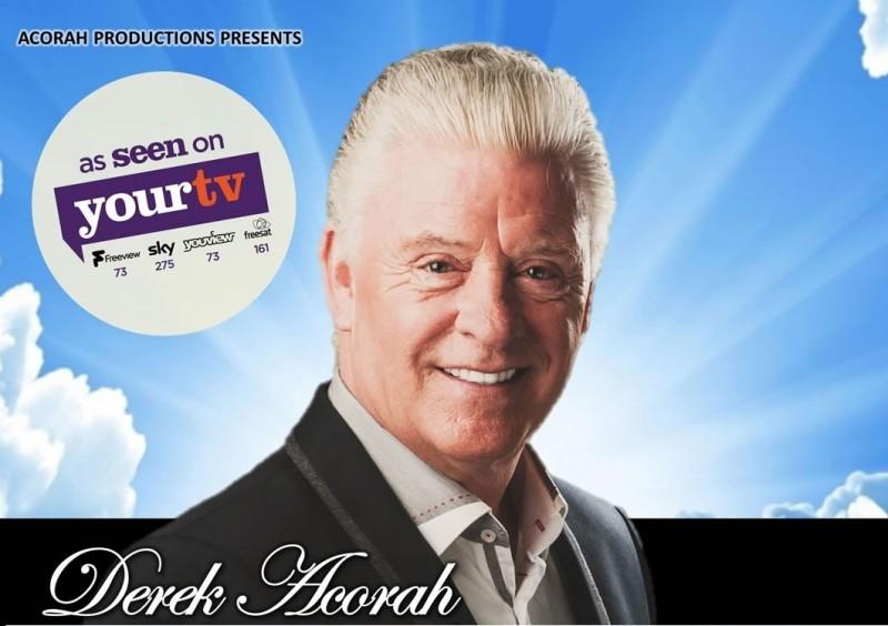 Derek Acorah 2017 Whispers From Heaven Tour