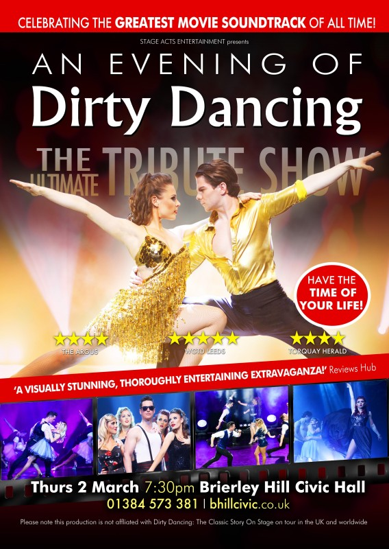 An evening of dirty dancing. The tribute show.