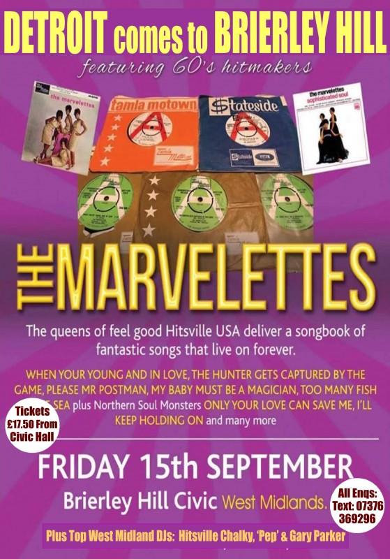 Motown Special starring The Marvelettes & Soul DJs