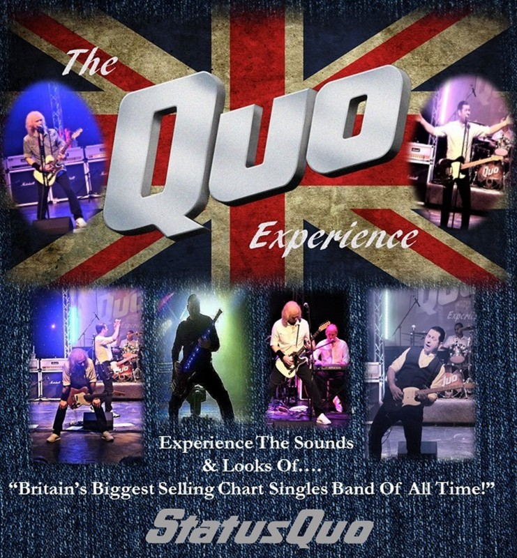 The Quo Experience, Friday 4th August 2017
